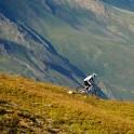 Russia. South Elbrus. Mt.Cheget slopes. Rider - Petr Vinokurov. Photo: Ludmila Zvegintseva