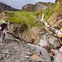 Russia. South Elbrus. Gara-Bashi valley. Rider - Vitaliy Khripunov. Photo: Ludmila Zvegintseva