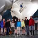 Russia. South Elbrus. The Terskol Astrophysical Observatory. RTP team and scientists - Aleksandr Sergeev, Nail Bakhtigaraev, Polina Levkina and Ilia Sokolov. Photo: Ludmila Zvegintseva