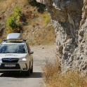Crimea. Road to Ai-Petri. RTP project official car - Subaru Forester. Photo: Artem Kuznetsov