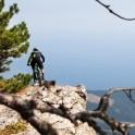 Crimea. Ai-Petri region. Rider - Vladimir Puliayevskiy. Photo: Konstantin Galat