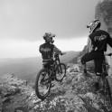Crimea. Ai-Petri region. Riders - Nikolay Pukhir and Vladimir Puliayevskiy. Photo: Konstantin Galat
