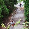 Crimea. Street riding in Koreiz. Rider - Petr Vinokurov. Photo: Konstantin Galat