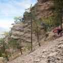 Crimea. Ai-Petri region, Taraktash ridge. Rider - Petr Vinokurov. Photo: Konstantin Galat