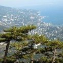 Crimea. Ai-Petri region/ Yalta view from Taraktash ridge. Photo: Konstantin Galat