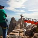 Crimea. Rope-bridge on Ai-Petri peak. Photo: Konstantin Galat