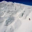 Elbrus region. Mt.Elbrus, Gara-Bashi glacier. Rider - Konstantin Galat. Photo by Oleg Kolmovskiy