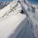 Elbrus region. Cheget massive. Rider Konstantin Galat on start. Photo by Oleg Kolmovskiy