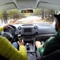 Elbrus region. Adyr-Su valley. RTP official car - VW Amarok. Photo by Oleg Kolmovskiy