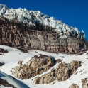 Elbrus region. Mt.Elbrus, Terskol glacier. Rider - Alexander Ilyin. Photo by Sergey Puzankov