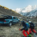 Elbrus region. Terskol valley. Riders - Idris Uzdenov and Konstantin Galat. VW Amarok - official RTP project car. Photo by Sergey Puzankov