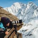 Elbrus region. Cameraman - Dmitriy Vasilevskiy. Photo by Sergey Puzankov