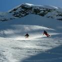 Elbrus region. Cheget massive. Riders - Alexander Baidaev and Konstantin Galat. Photo by Sergey Puzankov