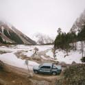 Elbrus region. Adyr-Su valley. RTP official car - VW Amarok Atakama. Photo by Sergey Puzankov