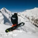 Elbrus region. Cheget mount. Rider - Konstantin Galat. Photo by Sergey Puzankov