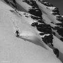 Elbrus region. Cheget massive. Rider - Konstantin Galat. Photo by Sergey Puzankov