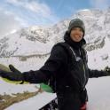 Russia, Caucasus. Mt.Cheget. Rider - Igor Ilynikh. Photo by Konstantin Galat