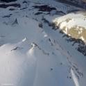 Russia, Caucasus, Elbrus region. RTP riders on Mt.Cheget slopes. Photo by Oleg Kolmovskiy (drone)