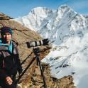 Russia, Caucasus, Elbrus region. Cameraman - Dmitriy Vasilevskiy. Photo by Sergey Puzankov