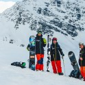 Russia, Caucasus, Elbrus region. RideThePlanet riders - Igor Ilynikh, Idris Uzdenov, Konstantin Galat. Photo by Sergey Puzankov.
