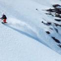 Russia, Caucasus, Elbrus region. Mt.Cheget. Rider - Konstantin Galat. Photo by Sergey Puzankov