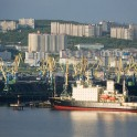 Murmansk. Icebreaker at seaport. Photo by Konstantin Galat