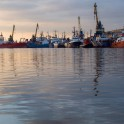Murmansk seaport. Photo by Konstantin Galat