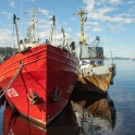 "Ship ""Kartesh"" at Murmansk seaport.  Photo by Konstantin Galat"
