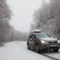 Северный Кавказ, район Домбай. Subaru Forester - официальный авто проекта RideThePlanet-2017. Фотограф - Константин Галат
