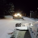 Кавказ. Курорт Архыз. Ночная подготовка лыжных трасс. Фото - Константин Галат