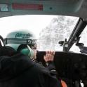 Кавказ. Район Архыз. Константин Галат в вертолете Eurocopter A350. Фото - Андрей Британишский