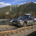 Кавказ. Район Архыз. Subaru Forester - официальный автомобиль проекта RideThePlanet. Фото: Константин Галат