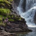 Норвегия. Река Tysselva. Иван Козлачков и Елизавета Прозорова. Фото – Константин Галат