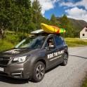 Норвегия. Subaru Forester - официальный автомобиль проекта RideThePlanet. Фото – Константин Галат