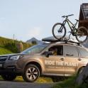 Италия. Регион Ливиньо. Subaru Forester - официальный авто проекта RideThePlanet. Фото - Дарья Пуденко