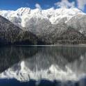 Абхазия. Высокогорное озеро Рица. Фото – Александр Ильин