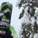 Абхазия. Энергетические напитки GORILLA – партнер проекта RideThePlanet. Фото – Александр Ильин