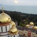 Абхазия. Православный монастырь в Новом Афоне. Фото с дрона – Борис Белоусов