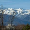 Абхазия. Вид на горы из п. Лыхны – древней столицы Абхазии. Фото – Константин Галат
