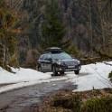 Абхазия. Subaru Outback – официальный автомобиль проекта RideThePlanet. Фото – Сергей Пузанков