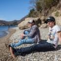 Абхазия. Александр Бойко и Константин Галат. Фото – Артем Кузнецов