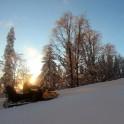 Абхазия. Район Ауатхара. Снегоходная заброска команды RTP на перевал Пыф. Фото – Константин Галат