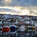Северная Норвегия. Заполярный регион Nord Norge. Город Skjervoy на острове Skjervoya. Фото - Артем Оганов