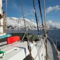 """Северная Норвегия. Регион Nord Norge. Яхта """"Alter Ego"""". Фото – Константин Галат"""
