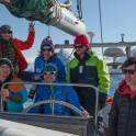 """Северная Норвегия. Заполярный регион Nord Norge. Команда RideThePlanet во время морского перехода на яхте """"Alter Ego"""". Фото - Константин Галат"""