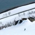 Северная Норвегия. Регион Nord Norge. Остров Kagen. Райдер – Константин Галат. Фото – Тамара Столбова