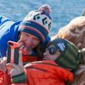 """Северная Норвегия. Регион Nord Norge. Яхта """"Alter Ego"""". Тамара Столбова и Александр Ильин. Фото – Андрей Абрамов"""