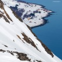 Северная Норвегия. Регион Nord Norge. Остров Arnoya. Райдер – Александр Ильин. Фото – Тамара Столбова