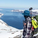 Северная Норвегия. Регион Nord Norge. Остров Arnoya. Александр Ильин. Фото – Тамара Столбова