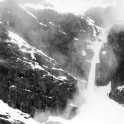 Северная Норвегия. Регион Nord Norge. Ледник, падающий в Oksfjord. Фото – Тамара Столбова
